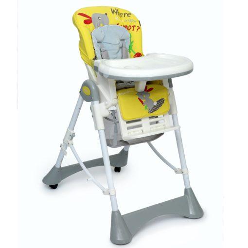 صندلی غذای ببکو bebeko رنگ زرد