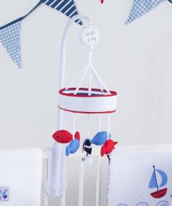 آویز تخت موزیکال red kite مدل ships ahoy