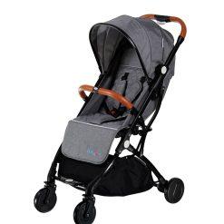 کالسکه مسافرتی baby 4 life مدل tr18 رنگ dark gray