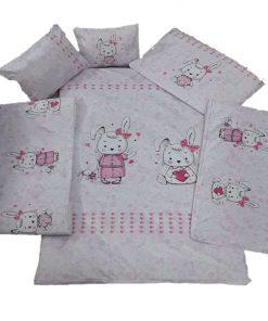 سرویس خواب کودک mhp - طرح خرگوش - 11 تکه