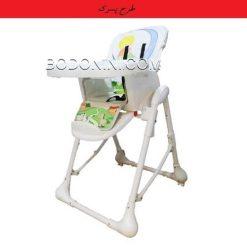 صندلی غذاخوری zooye زویه مدل z32 طرح پسرک